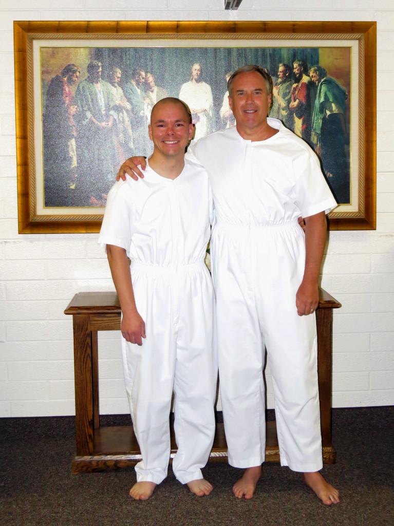 Jimmy's Baptism